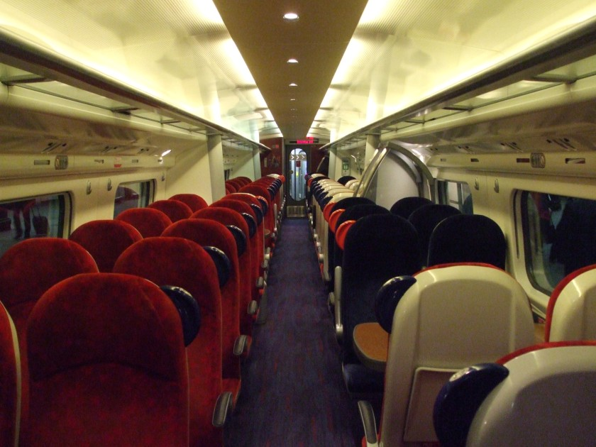 train carriage interior