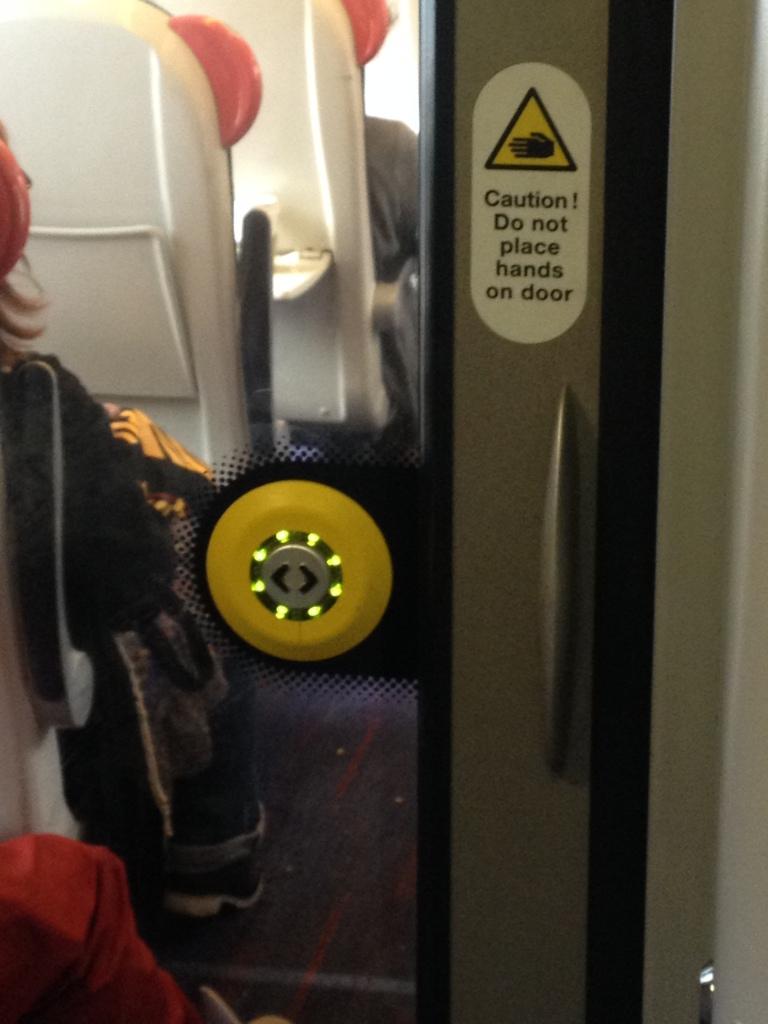 train carriage door
